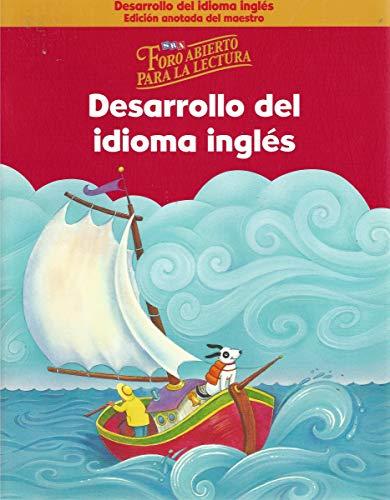9780075795292: SRA Foro Abierto Para La Lectura, Nivel K (Spanish Edition)