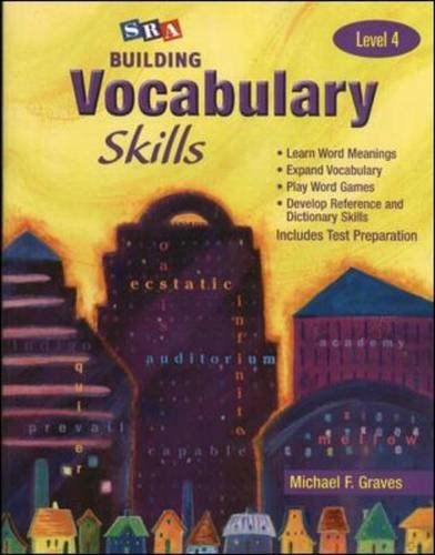 Building Vocabulary Skills A - Student Edition: Graves, Michael