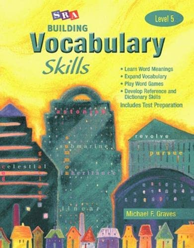 Building Vocabulary Skills A - Student Edition - Level 5 (0075796163) by Michael Graves