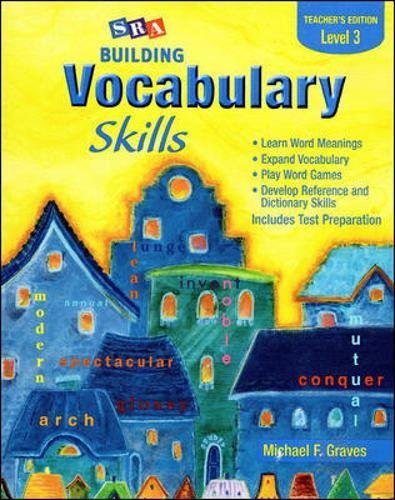 9780075796244: Building Vocabulary Skills A - Teacher's Edition - Level 3