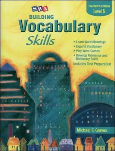 9780075796268: Building Vocabulary Skills A - Teacher's Edition - Level 5