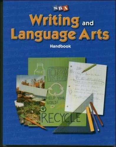 Writing and Language Arts - Writer's Handbook: Williams, James D.,