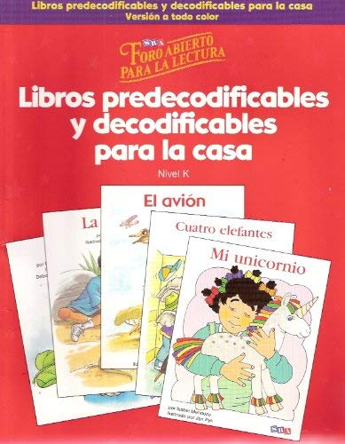 9780075797210: Foro Abierto Para LA Lectura: Takehome 4-Color, Grade K (Imagine it!) (Spanish Edition)