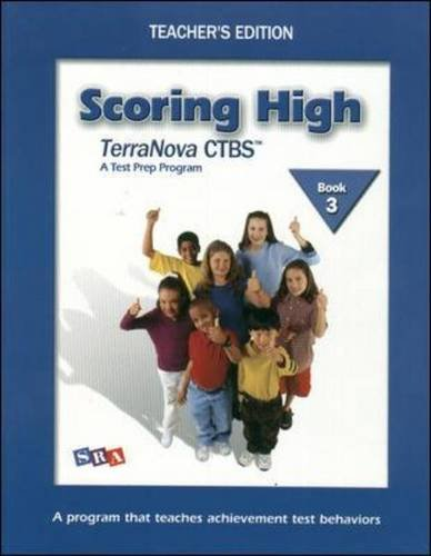 9780075840640: Scoring High on the TerraNova CTBS - Teacher's Edition with Poster - Grade 3