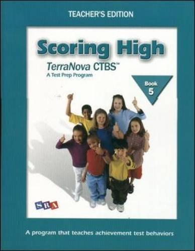 9780075840664: Scoring High on the TerraNova CTBS - Teacher's Edition with Poster - Grade 5