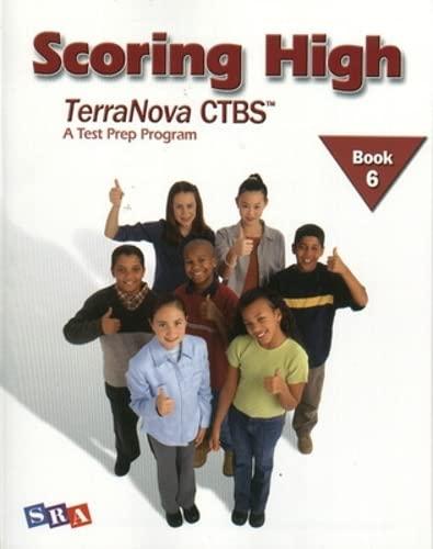 9780075840756: Scoring High TerraNova CTBS: A Test Prep Program, Book 6