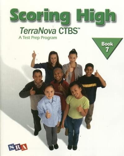 9780075840763: Scoring High TerraNova CTBS, Book 7