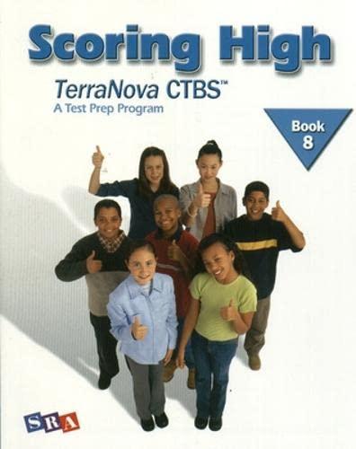 9780075840770: Scoring High on the TerraNova CTBS, Student Edition, Grade 8 (SCORING HIGH, CTBS)