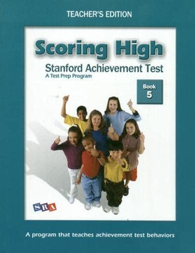 9780075840909: Scoring High on the SAT/10: Grade 5