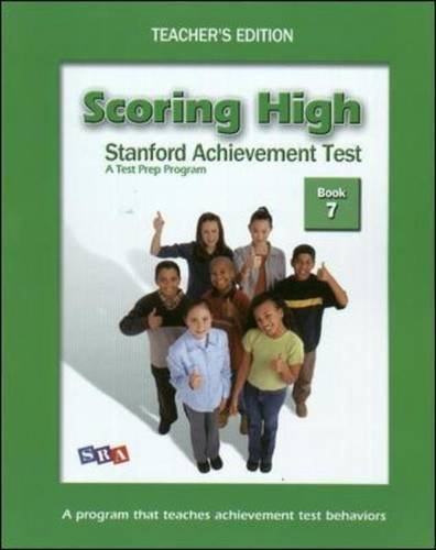 9780075840923: Scoring High on the SAT/10 - Teacher's Edition and Poster Package - Grade 7
