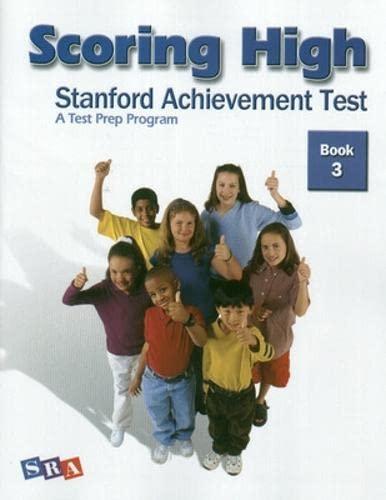9780075840961: Scoring High: Stanford Achievement Test, Book 3