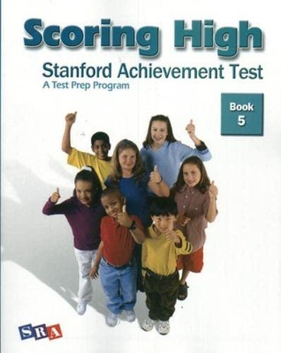 9780075840985: Scoring High: Stanford Achievement Test. Book 5