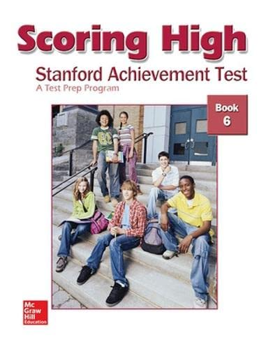 9780075840992: Scoring High: Stanford Achievement Test, Book 6