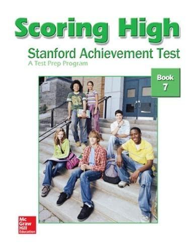 9780075841005: Scoring High: Stanford Achievement Test, Book 7