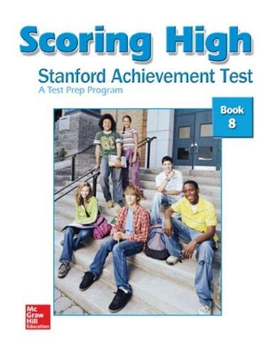 9780075841012: Scoring High: Stanford Achievement Test, Book 8
