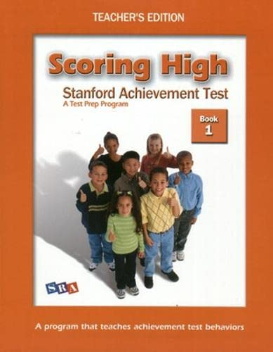 9780075841029: SCORING HIGH ON SAT - TEACHER EDITION GRADE 1 (Scoring High, SAT)
