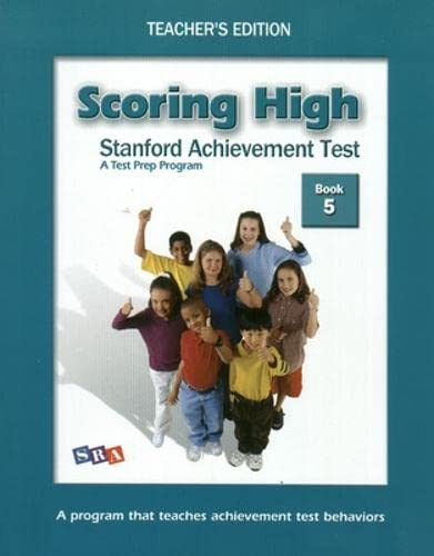 9780075841067: Scoring High on Sat Teacher Edition Grade 5