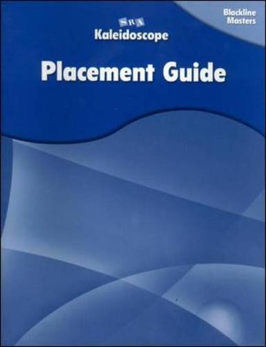 9780075841807: Kaleidoscope - Placement Assessment Blackline Masters - Levels A-E