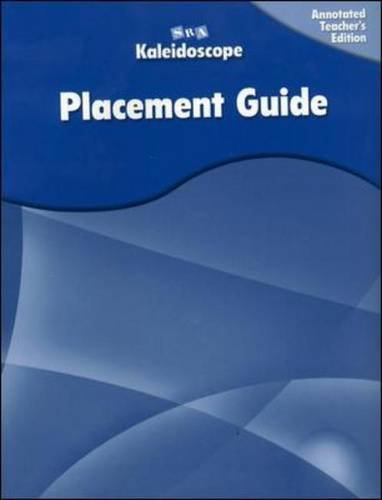9780075841814: Kaleidoscope - Placement Assessment Annotated Teacher's Edition - Levels A-E