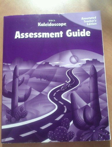 9780075841968: Kaleidoscope: Assessment Guide, Annotated, Level E (Teacher's Edition)