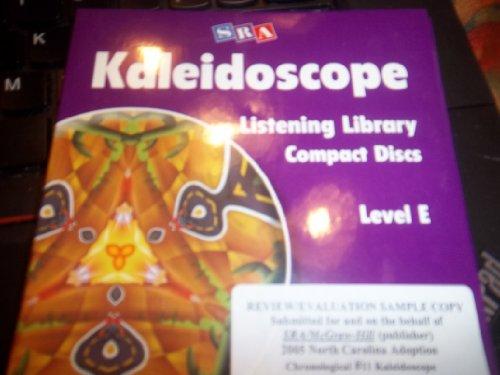 9780075842163: Kaleidoscope - Listening Library - Level E