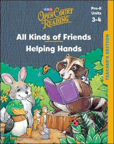 9780075842361: Open Court Reading - Teacher's Edition - Units 3 and 4 - Grade Pre-K