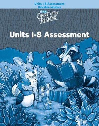 9780075842422: Open Court Reading - Assessment - Units 1-8 - Grade Pre-K