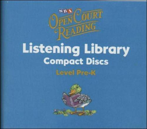 9780075842569: Open Court Reading - Listening Library CDs - Grade Pre-K