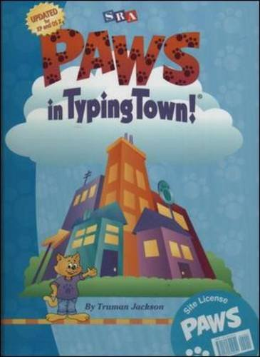9780075844051: PAWS in Typing Town! - Site License Package (Includes CD-ROM software, Teacher's Resource Guide, and PAWS small poster): Paws in Typing Town MAC/Win CD-Rom Site License