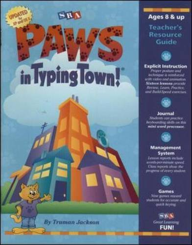 9780075844068: PAWs in Typing Town!: Teacher Resource Guide