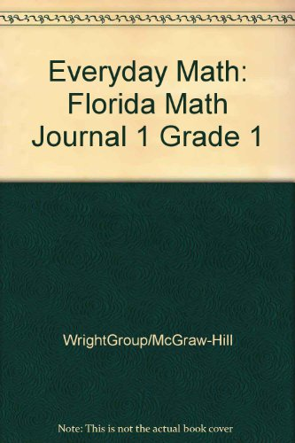 9780075844570: Everyday Math: Florida Math Journal 1 Grade 1
