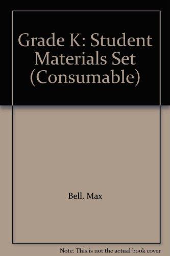 9780076003068: Grade K: Student Materials Set (Consumable)