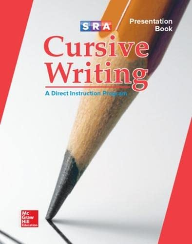 9780076003495: Cursive Writing Program - Teacher Presentation Book