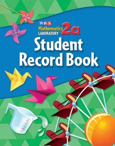 9780076004010: Math Lab 2a - Level 4; Student Record Book