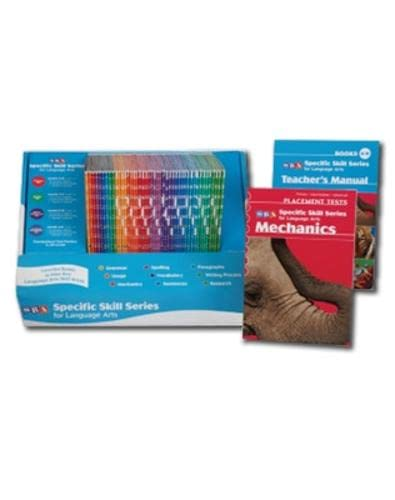 9780076004225: Specific Skill Series for Language Arts - Middle Set: Levels C-F (Grades 3-6)