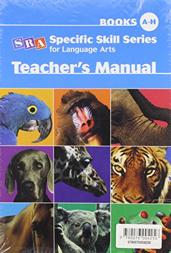 9780076004256: Specific Skill Series for Language Arts -Level A Starter Set: Sss Lang Arts Starter Set Lva