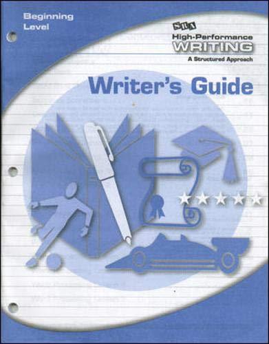 9780076004393: High-Performance Writing - Writer's Guide - Beginning Level