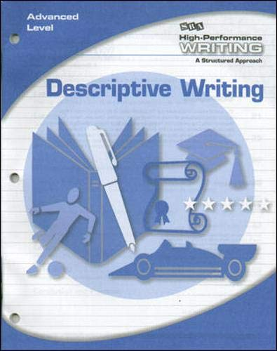 9780076004492: High-Performance Writing - Descriptive Writing - Advanced Level