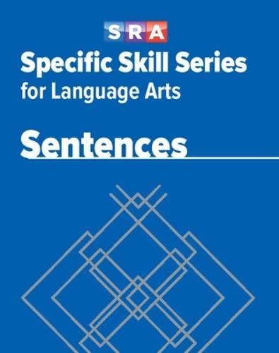 9780076017065: Specific Skill Series for Language Arts - Sentences Book - Level E: Sss Lang Arts LV E Sentences