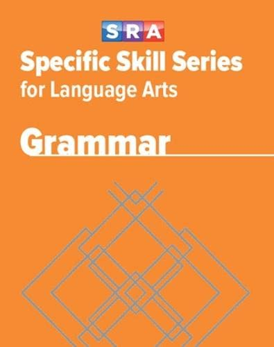 Specific Skill Series for Language Arts - Grammar Book - Level H (0076017281) by McGraw Hill