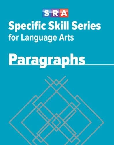 9780076017348: Specific Skill Series for Language Arts - Paragraphs Book - Level H