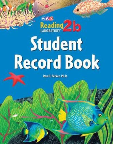 9780076017768: Reading Lab 2b, Student Record Book (5-pack), Levels 2.5 - 8.0 (READING LABS)