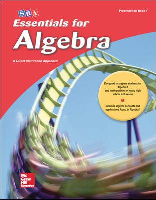 9780076021901: Essentials for Algebra Presentation Book 1 McGraw Hill Educators Edition