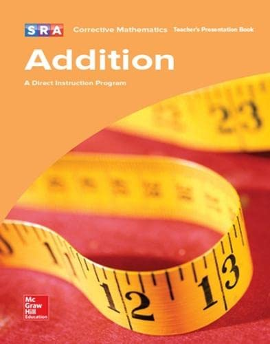 9780076024575: Corrective Mathematics: Addition- A Direct Instruction Program  (Teacher's Presentation Book)