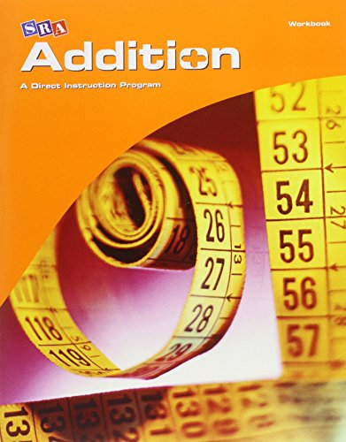 9780076024582: SRA Corrective Mathematics Addition, a Direct Instruction Program, Workbook, Student Edition (CORRECTIVE MATH SERIES)