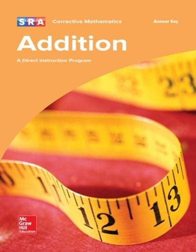9780076024599: Corrective Mathematics - Additional Answer Key (Addition)
