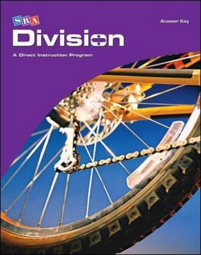 9780076024711: Division: A Direct Instruction Program, Answer Key (SRA Corrective Mathematics )