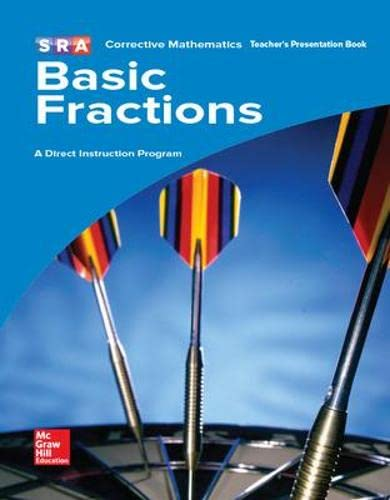 Corrective Mathematics Basic Fractions Teacher's Presentation Book: Siegfried Engelmann