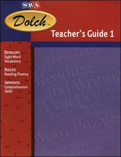9780076025343: Dolch Reading Program - First Reading Books Teacher's Guide 1 - Dolch Level 1
