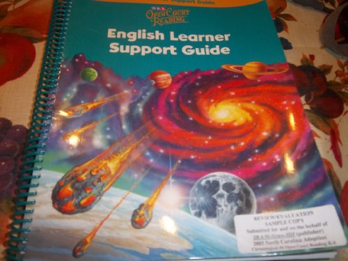 9780076026104: SRA Open Court Reading - English Learning Support Guide - Level 5